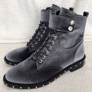 Vince Camuto Talorini motorcycle ankle boots